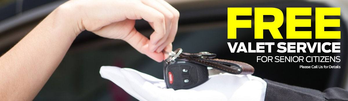 Free Valet Service for Seniors